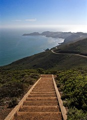 Marin County (relsham) Tags: ocean california stairs landscapes pacificocean bayarea marincounty photostream pointbonita