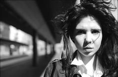 Sara | film | 2016 (Luca Scarpa) Tags: portrait blackandwhite bw film portraits bn ilford biancoenero
