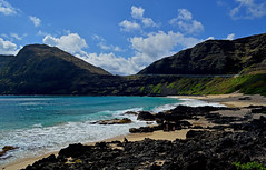 Makapu'u Beach (jcc55883) Tags: ocean sky clouds hawaii nikon oahu pacificocean makapuu nikond3200 makapuubeach d3200
