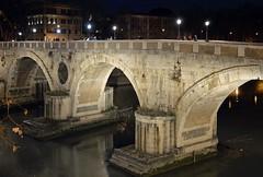 Sera a Ponte Sisto (giorgiorodano46) Tags: bridge italy roma river fiume ponte tiber tevere february pontesisto 2016 febbraio2016 giorgiorodano