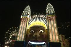 Sydney's Luna Park (Cosmicsniper) Tags: park point sydney luna milsons