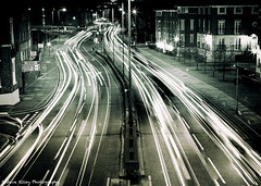 St. Martin's Way (fugjostle) Tags: road longexposure light cars night canon lowlight trails chester nighttime 7d 2470l traffictrails steveriley splittone 2470mm dualcarriageway 2470 ef2470mm stmartinsway canon7d welshot