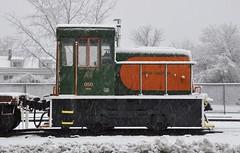 Webster, Massachusetts (2 of 4) (Bob McGilvray Jr.) Tags: railroad train ma display steel massachusetts tracks el caboose webster cr pw conrail baywindow erielackawanna pwrc providenceworcester providenceworcesterrailfanclub