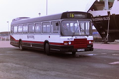 WESTERN SCOTTISH KL791 YFS309W (bobbyblack51) Tags: western scottish kl791 yfs309w leyland national ardrossan harbour 1994 all