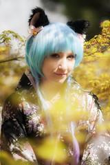 Stehohr (Rainer Schund) Tags: portrait nikon bokeh natur bad garten hanami trixi japanischer kirschblte ahorn unschrfe nikond700 stehohr langensalze