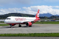 Airbus A320 214 Air Berlin Belair HB-IOP Swisscoy KFOR Rotation from Pristina / Kosovo Emmen Air Base Switzerland 20160414 (roli_b) Tags: airbus a320 a320200 a320214 air berlin airberlin hbiop swisscoy rotation kfor pristina kosova schweiz switzerland suisse suiza svizzera swiss army emmen base luzern lucerne 2016 april flugzeug flieger avion aircraft airplane jet flughafen airport aeroport aeropuerto peace mission belair