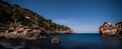 Cala Deia - Mallorca (Landreth1) Tags: sea night stars islands coast nikon long exposure mediterranean d750 nocturna fotografia fx mallorca deia balearic balears illes