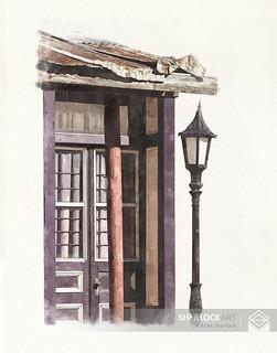 Lamp Post- Tombstone, 2004