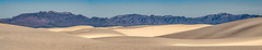 White Sands National Monument Pano (Jerry Fornarotto) Tags: travel blue mountain hot newmexico southwest west tourism nature beautiful beauty horizontal landscape outside nationalpark scenery solitude view desert outdoor pano whitesands dunes hill scenic dramatic dry nobody panoramic environment badlands np wilderness desolate barren climate arid sanddunes geological whitesandsnationalmonument geologic sonya7r jerryfornarotto fe70200mmfagoss