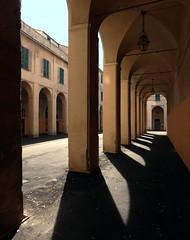 Palazzo Santa Chiara (fotomie2009) Tags: santa italy architecture italia corte liguria archway palazzo portici chiara architettura dellarovere porticato savona