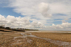 Tankerton Slopes viewed from Long Rock (Chrisipe Photography) Tags: water clouds kent whitstable kitesurfers tankerton coldday longrock tankertonslopes swalecliffe canon6d