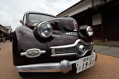PANHARD (Teruhide Tomori) Tags: old car japan drive town classiccar vintagecar rally  fukui panhard  kumagawa     lafestaprimavera