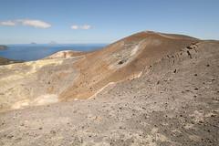 Vulcano (Derbyshire Harrier) Tags: yellow island volcano mediterranean crater sulphur geology vulcano stromboli craterrim aeolianislands tyrrheniansea 2016 fumaroles sicilianvolcanos