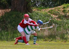 Bute 1-1 Oban Celtic (ufopilot) Tags: sport oban celtic shinty bute rothesay caman camanachd