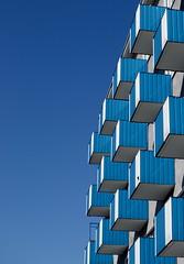 Blocks (tuukkasaari) Tags: blue sky architecture buildings helsinki geometry balcony minimal simplicity minimalism