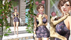 #Look 1238 Baby Sloths (shirleyansari) Tags: pink light baby brown beauty fix pose hair gold spring high shoes dress natural timber cassidy acid watch mini pack e sloth shirley lip gloss lipstick transparent rare bens headband 79 ansari daisys sloths on wedges in overly elcin overlow poute dokata