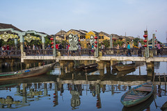 Reflection (suesuekhoo) Tags: reflections landscape nikon flickr outdoor bridges vietnam rivers flickrunitedaward suesuekhoo huianancienttown