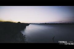 Last Sunrise (Thomas Teffaine Photographie) Tags: sea wild sky sun france water sunrise canon river soleil tripod wideangle 5d dslr manfrotto hoya canon5dmarkiii nd500