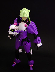 Hazard Princess Melissa (Djokson) Tags: moon girl hair purple lego space suit bubblegum sailor lime crisis mecha moc hardsuit djokson
