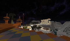 View from the Viewing Area (GumbyBlockhead) Tags: newyearseve newyears signofthetimes 2016 redcastle gamingedus