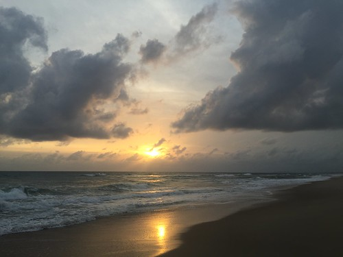 Caminho do sol, Ceará, Brasil.