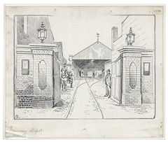 Loxton U 1158 (Bristol Libraries) Tags: uk bristol depot common tramway horfield