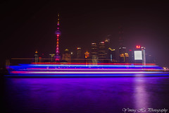 Shanghai (mingsquared) Tags: china christmas city urban night lights boat nikon cityscape skyscrapers   pudong thebund nikond3200   tokinaaf1224mmf4