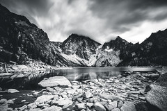 Alpine Lakes Wilderness (howellmm44) Tags: white lake black washington long exposure glacier alpine colchuck