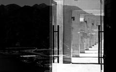 (a.pierre4840) Tags: reflection monochrome contrast hongkong cityscape olympus omd 25mm schneider kreuznach f19 em5 cmount xenoplan