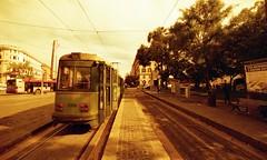 Rome, tramway, lomography (Patrick.Raymond (2M views)) Tags: rome tramway expressyourself nikonflickraward lomographyitalieargentiquenikonredscale