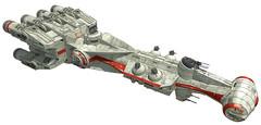 Star Wars - CR90 Corvette Free Papercraft Download (PapercraftSquare) Tags: starwars corvette cr90 blockaderunner corelliancorvette cr90corvette alderaancruiser