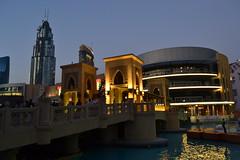 Dubai - Burj Kalifa and surroundings (capreoara) Tags: music tower fountain mall nikon dubai dancing top january khalifa surroundings burj 2016 atthetop kalifa d3100