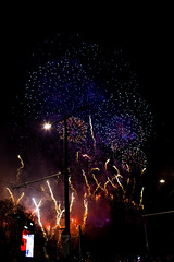 Hogmanay 2015 Fireworks 1 (HarveyNewman) Tags: street night canon scotland colorful edinburgh time fireworks mark iii scottish newyear celebration hogmanay scotish 2015