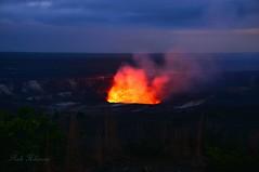 Night Glow (Pink Hibiscus) Tags: volcano lava nikon crater caldera bigisland fx hawaiivolcanoesnationalpark allrightsreserved halemaumau d800 copyrighted 2016 hawaiiisland pinkhibiscus kilaueavolcano halemaumaufirepit