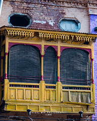 _MG_1947_#1 (Mir Faisal) Tags: old city pakistan color architecture outdoor balcony lahore