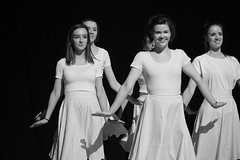 Back to the 50s Rehearsal (BablakeSchool) Tags: charity music independent 50s coventry womankind bablake bablaketheatre