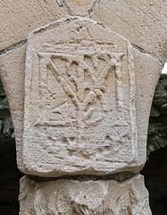 monogram, Crichton Castle (wwshack) Tags: lothians historicscotland crichtoncastle