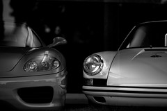 Porsche (JM L) Tags: bw monochrome newportbeach pch porsche adobecameraraw ef135mmf2l westpch