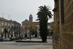 Plaza del 1 de Mayo (vcastelo) Tags: plaza espaa 1 spain mayo palmera andalucia jaen ubeda