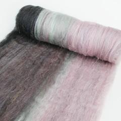 spinning batt (Bee Mice Elf) Tags: wool handmade spinning fiber roving handspun handdyed batts beemiceelf