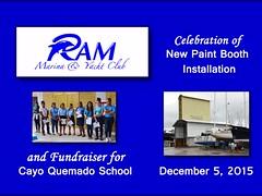 Ram Marina Paint Booth Opening and School Fundraiser in Rio Dulce, Guatemala (guatfun/Jody) Tags: school guatemala riodulce fundraiser cruisers centralamerica boaters cayoquemado rammarina