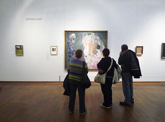 Klimt, Death and Life, gallery view