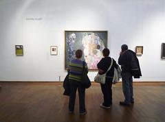 Klimt, Death and Life, gallery view (profzucker) Tags: vienna life painting death klimt secession symbolism leopold klimtdeath