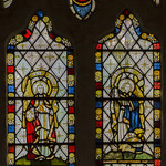 Carlton-leMoorland, St Mary's church, Stained glass window thumbnail