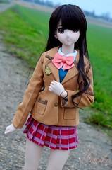 Premire sortie... (Miinak's Dreams) Tags: girls photo doll sister dream champs shooting cinderella dollfie campagne dds shimamura uzuki idolmaster