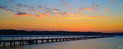 Long Jetty Serenity (Melissa Hopkins) Tags: sunset jetty peaceful australia nsw longjetty melissahopkins