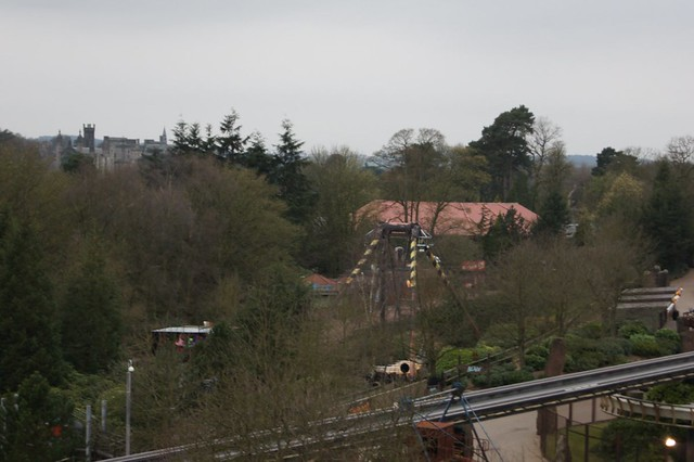 View of The Towers and The Balde from the top of Air's lift hill