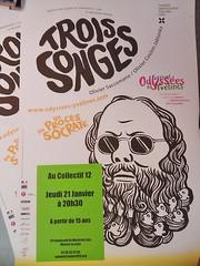 Trois songes (un procs de Socrate) - rptition (Collectif 12) Tags: trois olivier lyce rptition socrate songes rsidence coulonjablonka