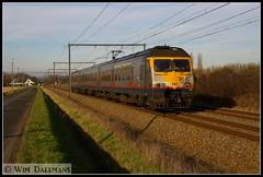 NMBS SNCB MS80 AM80 341 Berlaar 16122013 (W. Daelmans) Tags: electric train break railway trein 341 spoorweg nmbs sncb am80 ms80