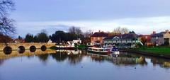Stratford (Dickie-Dai-Do) Tags: uk bridge england river boathouse warwickshire stratforduponavon